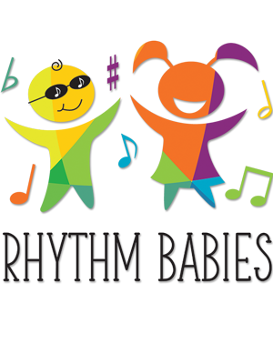 Rhythm Babies Philadelphia Music Classes for Babies Toddlers Children Logo